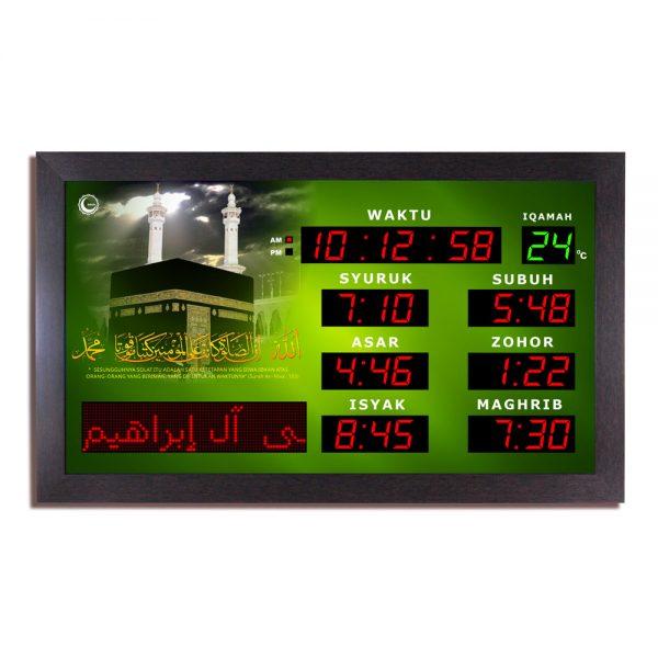 jam azan iman surau hijau
